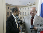 Zurab Tsereteli was presented with UNESCO Picasso Gold Medal
