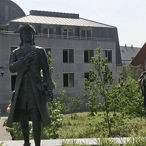 Monument to the Russian Emperor Peter the Great by Alexander Taratynov Was Unveiled in Liege