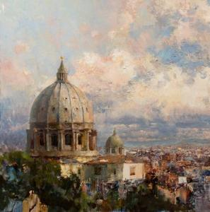 ROMANCE WITH THE SKY: SOLO EXHIBITION OF ST. PETERSBURG ARTIST ROMAN LYAPIN