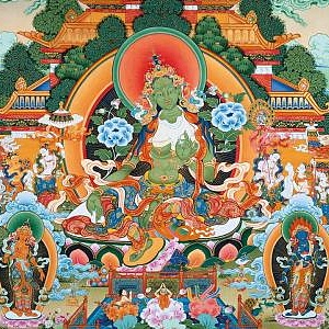 THANGKA PAINTING. MEDITATION AND PHILOSOPHY OF THE EAST: EXHIBITION OF NICKOLAI DUDKO AT THE RUSSIAN ACADEMY OF ARTS